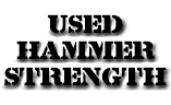 Used Hammer Strenght